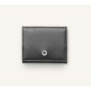 Novčanik za kovanice Saffiano, crni